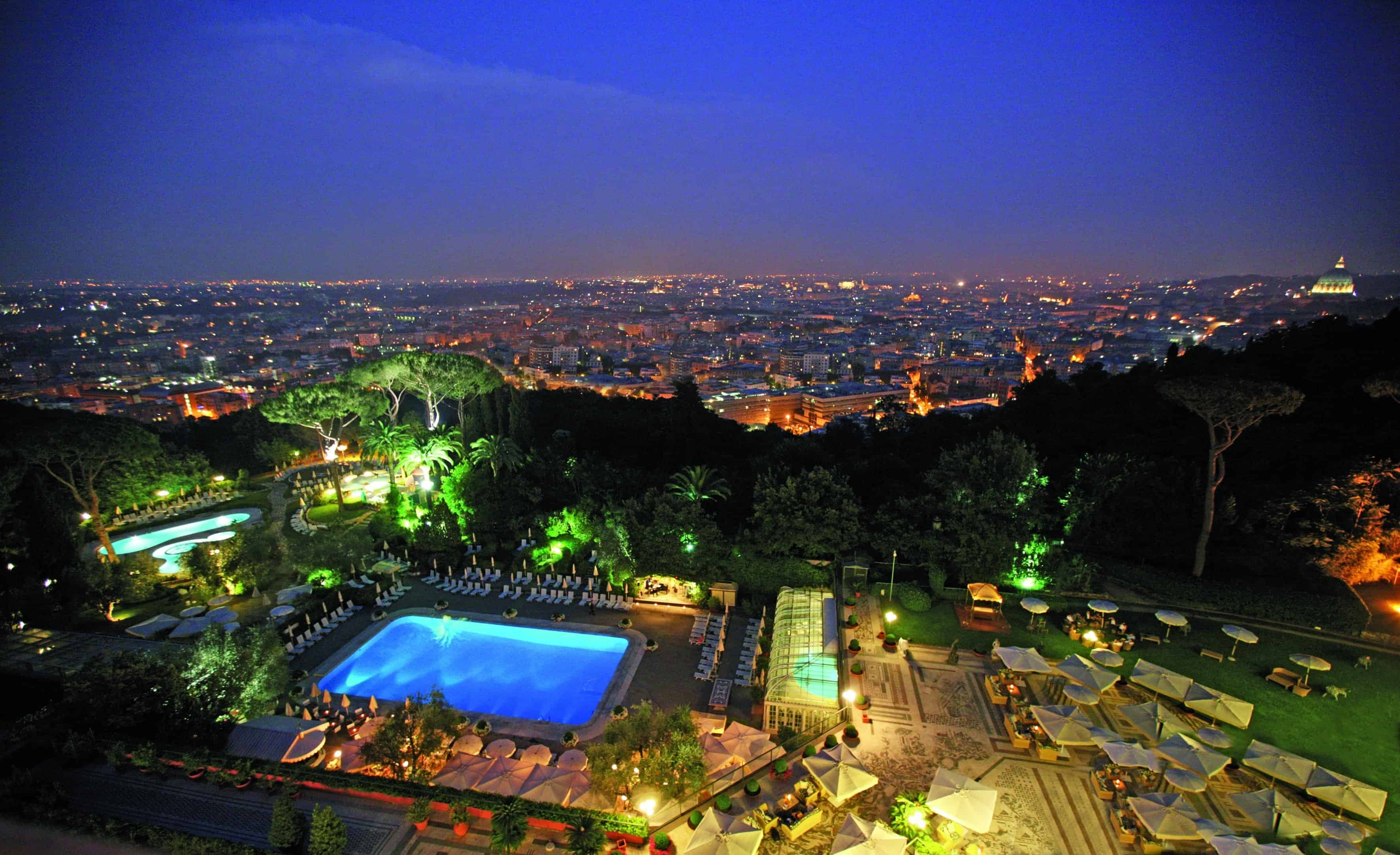 Migliore Hotel Spa Italia è Il Grand Spa Club del  Rome Cavalieri, parola di Travel + Leisure