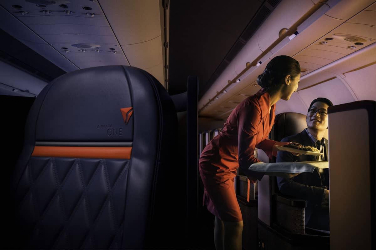 Come si viaggia con Delta Air Lines, la mia esperienza… da terra!<br/> (Ovvero, com&#8217;è comoda la Business Class)