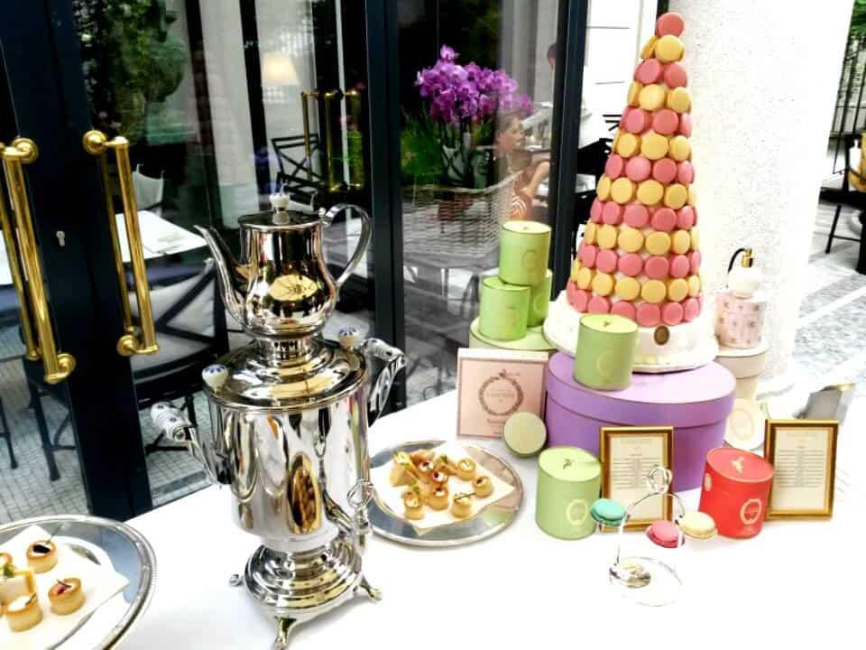 Dove prendere il te a Milano: a Palazzo Parigi è Afternoon Tea