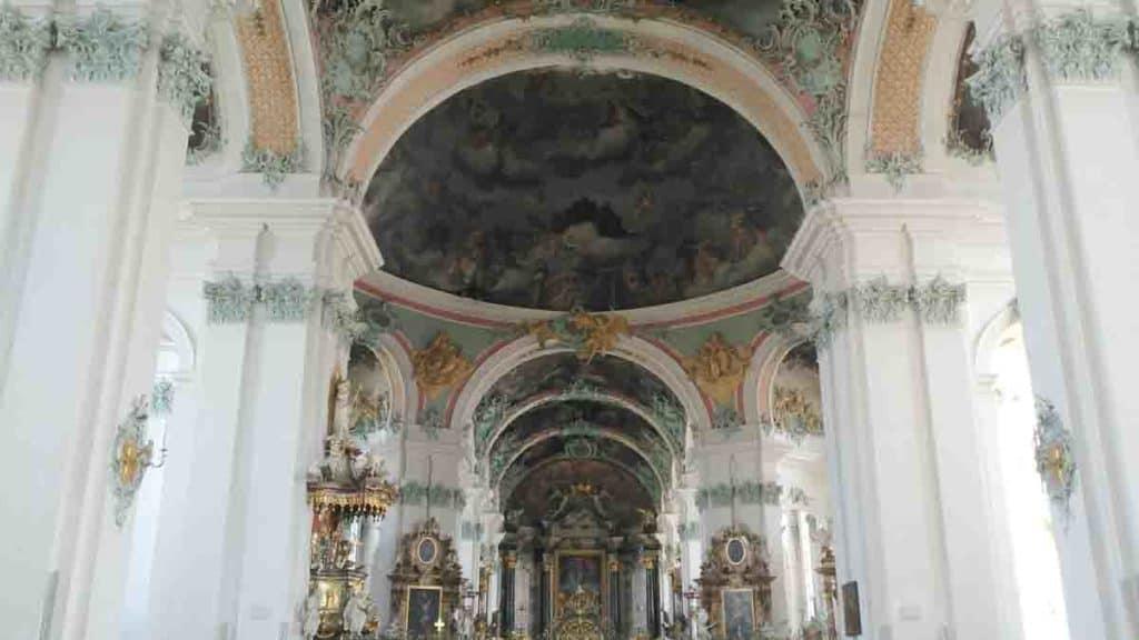 San Gallo Svizzera, l'interno della cattedrale