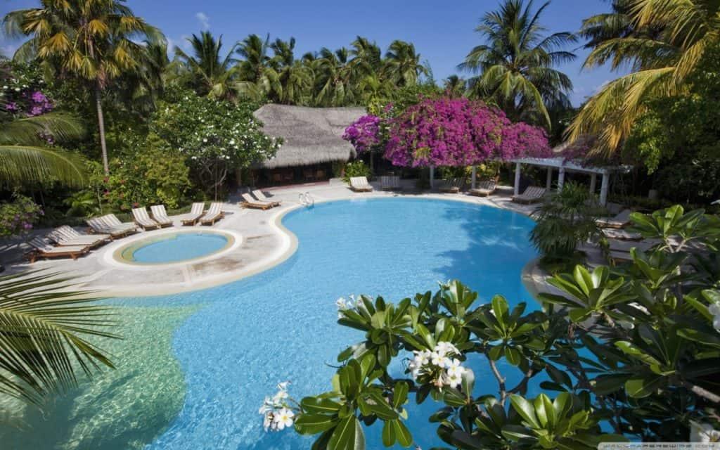 wanup albergo piscina