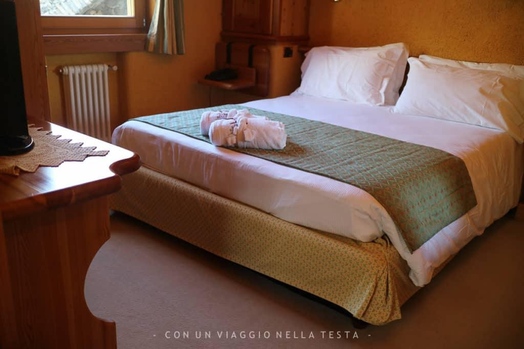 Un dettaglio della mia stanza all'Hotel Notre Maison (camera superior)