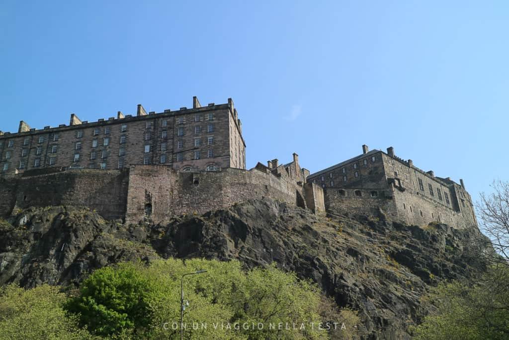 cose da fare a edimburgo, il castello