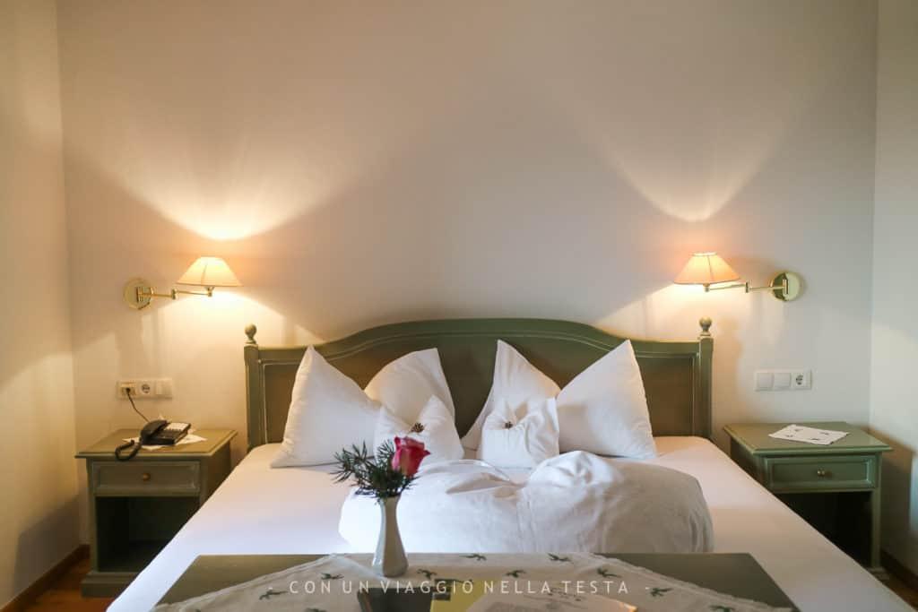 La mia stanza all'Hotel Tann