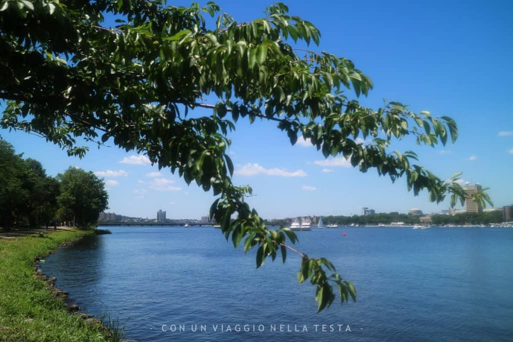 Scorci della Charles River Esplanade