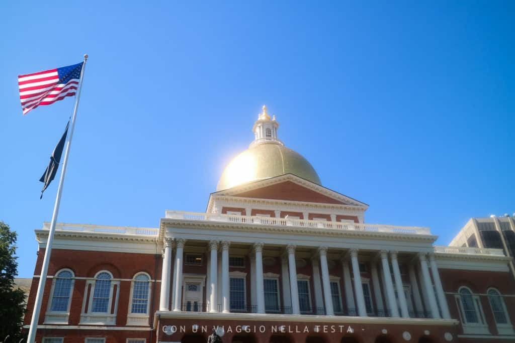 freedom trail state house boston