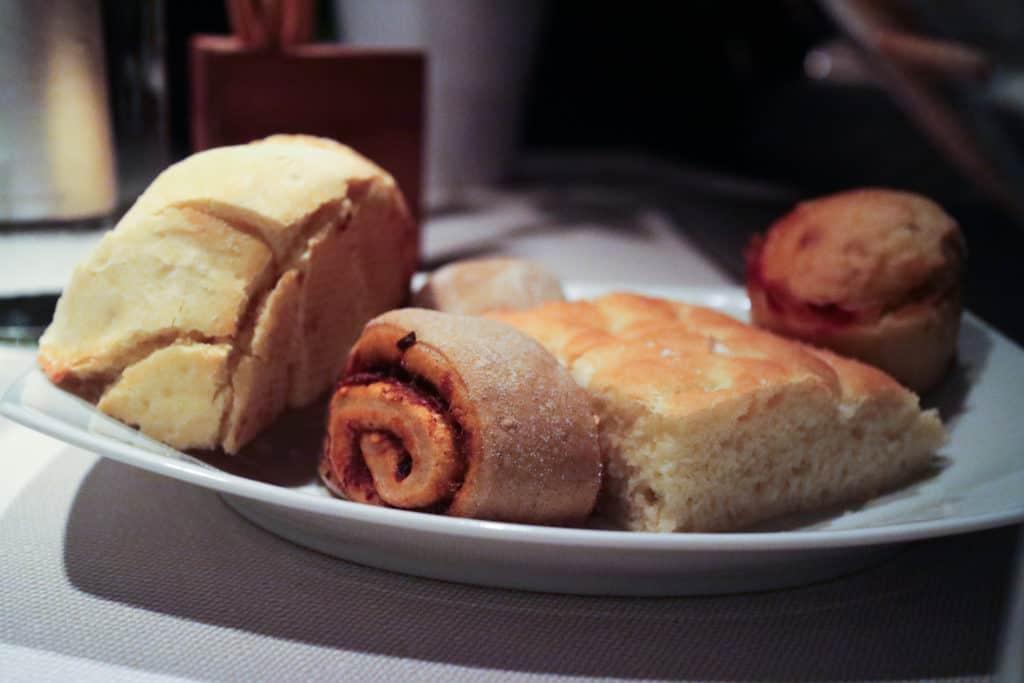 Il pane de l'Hosteria La Cave Cantù