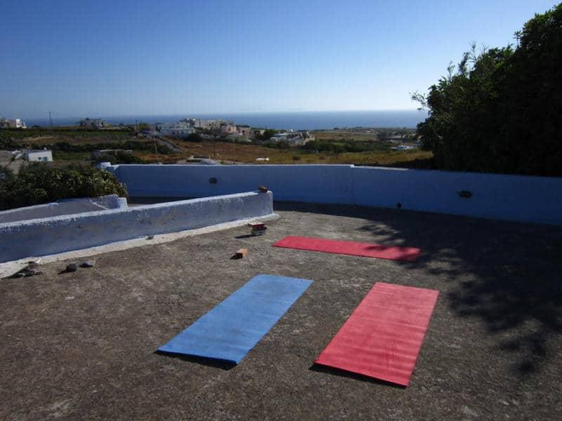 wellness low cost al Caveland Hostel di Santorini