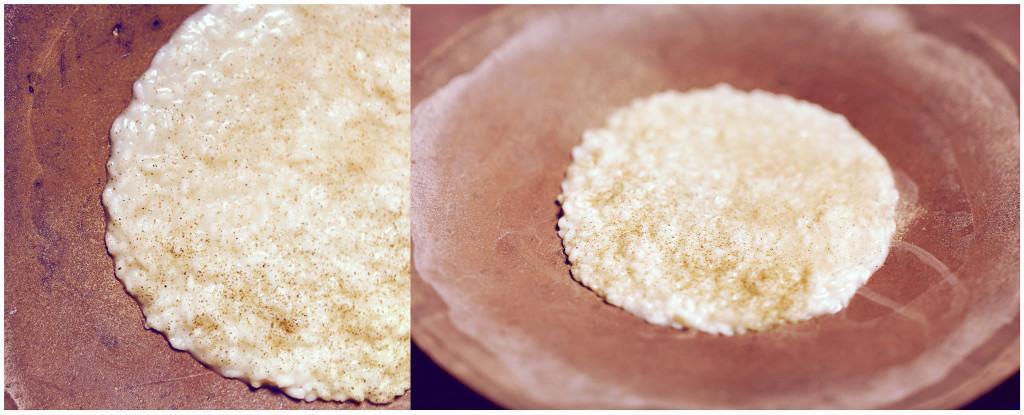 Il risotto provola e champagne di Lorenzo Cogo, nel menù degustazione a Palazzo Parigi