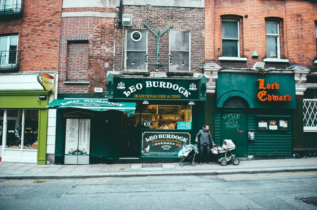Uno scorcio di Dublino. Copyright TOURISM IRELAND
