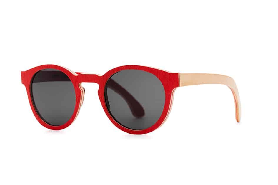 occhiali da sole donna rossi