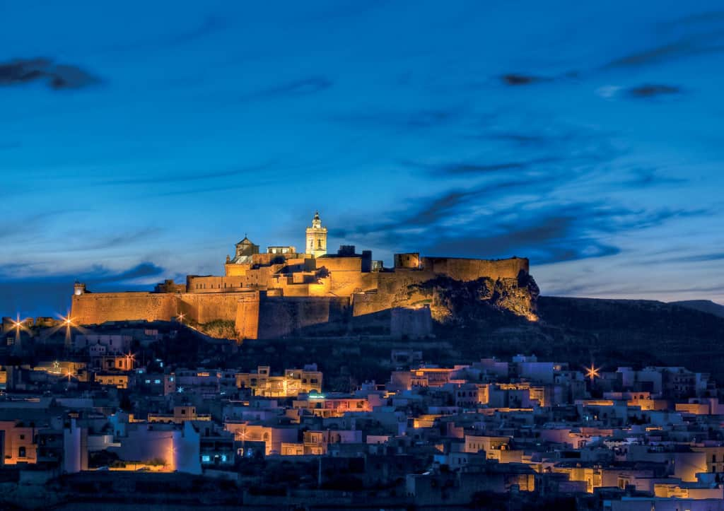 Malta vista sulla Cittadella