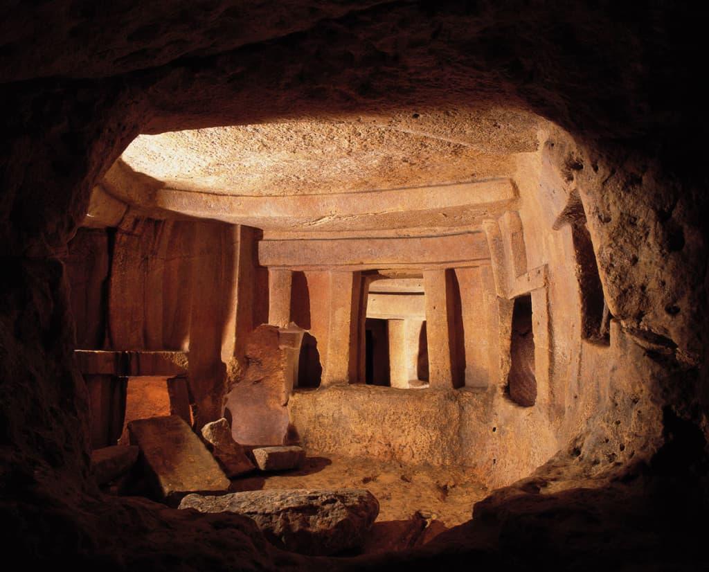 Ipogeo di Ħal-Saflieni a Malta