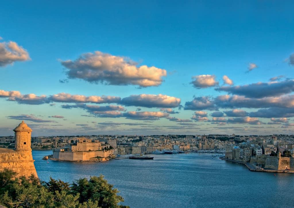 Vista sul porto grande