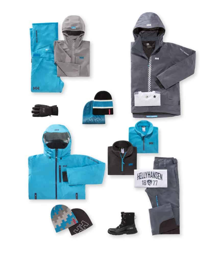 abbigliamento sci da uomo