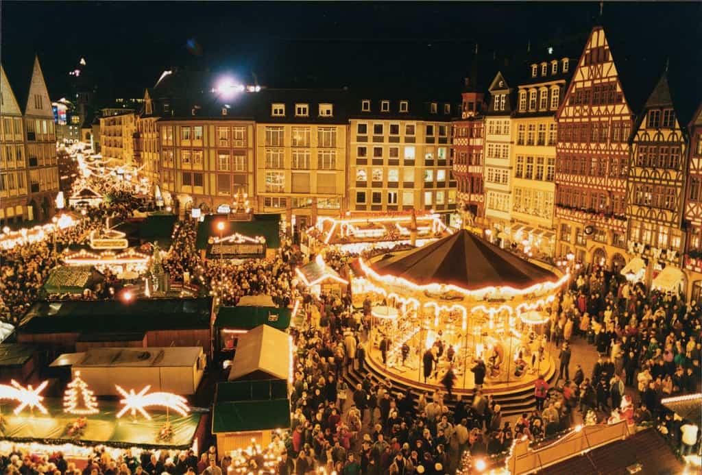 Luci di Natale a Francoforte