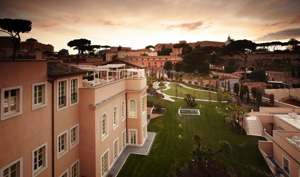Vista dal Gran Melià a Roma