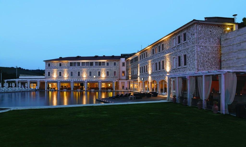 Vista sul Resort Terme si Saturnia