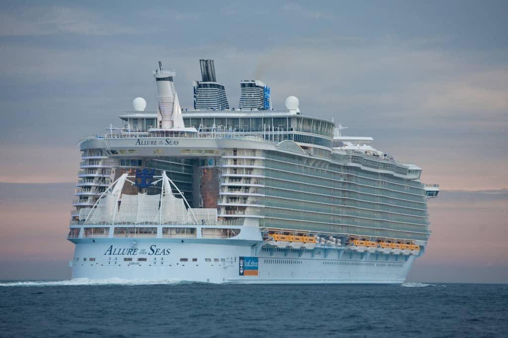 Allure of The Seas di Royal Caribbean è tra le navi più grandi del mondo