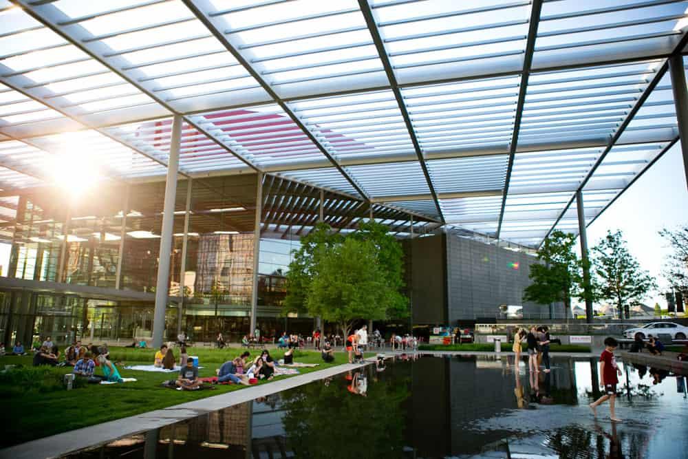 Uno scorcio del Dallas Art District