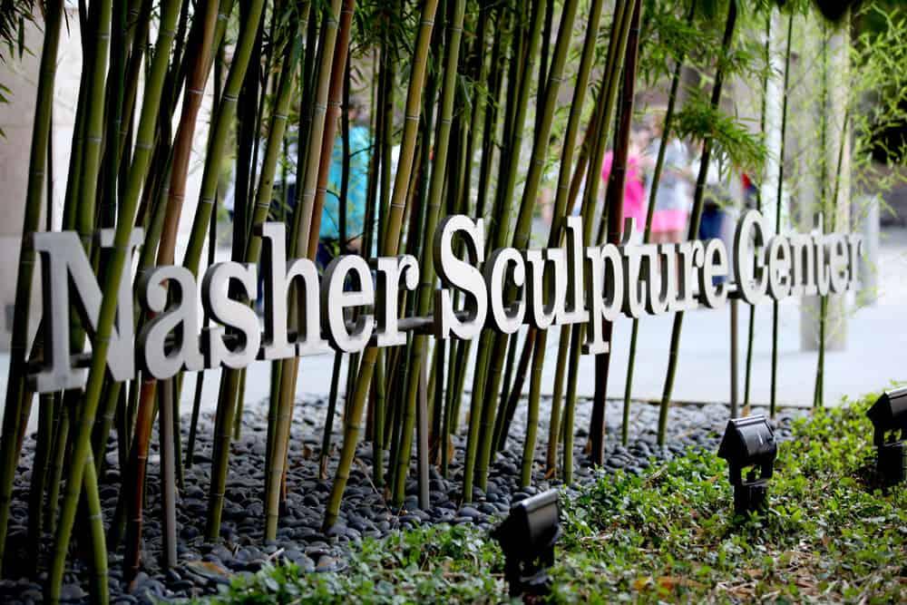 L'ingresso del Nasher Sculpture Centre di Dallas