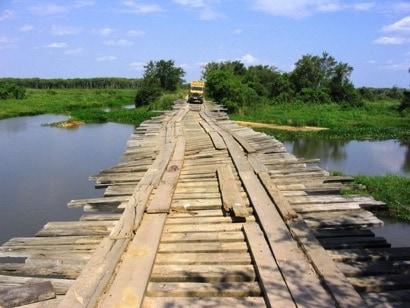Il Pantanal, la più grande zona umida del mondo, un'immensa pianura alluvionale.