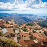 Vista panoramica su Bova, in provincia di Reggio Calabria.