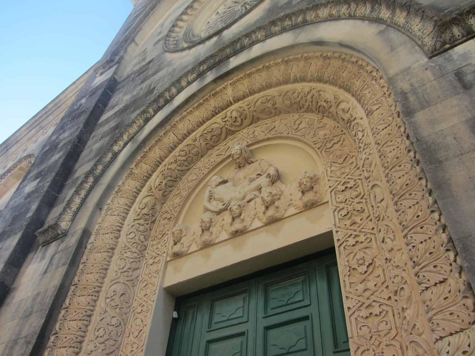 L'antico portale della Chiesa dell'Addolorata, Corigliano d'Otranto