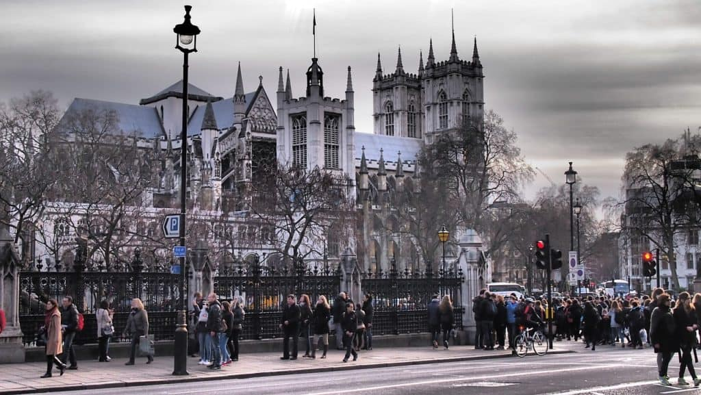 londra itinerario royal family westminster