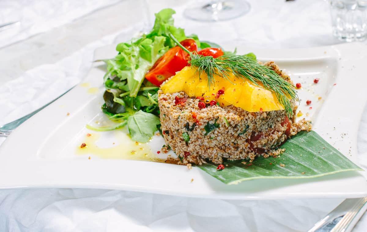 Uno dei piatti vegetariani serviti da Lapa. PH. Moumou Photography www.moumouphotography.it