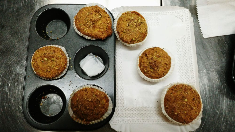 confezionamento muffin Corso di dolci americani