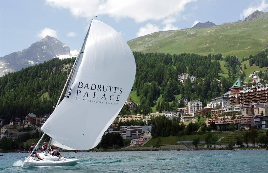 Barca a Vela a Saint Moritz Badrutt's Palace