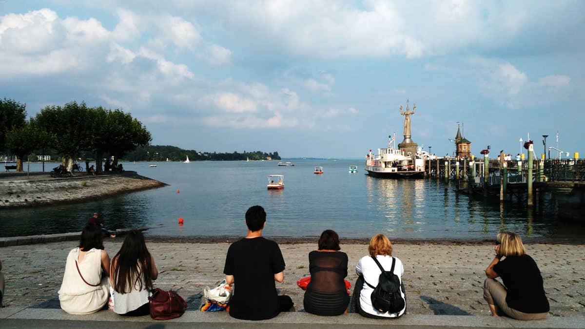 Costanza, vista sul lago.