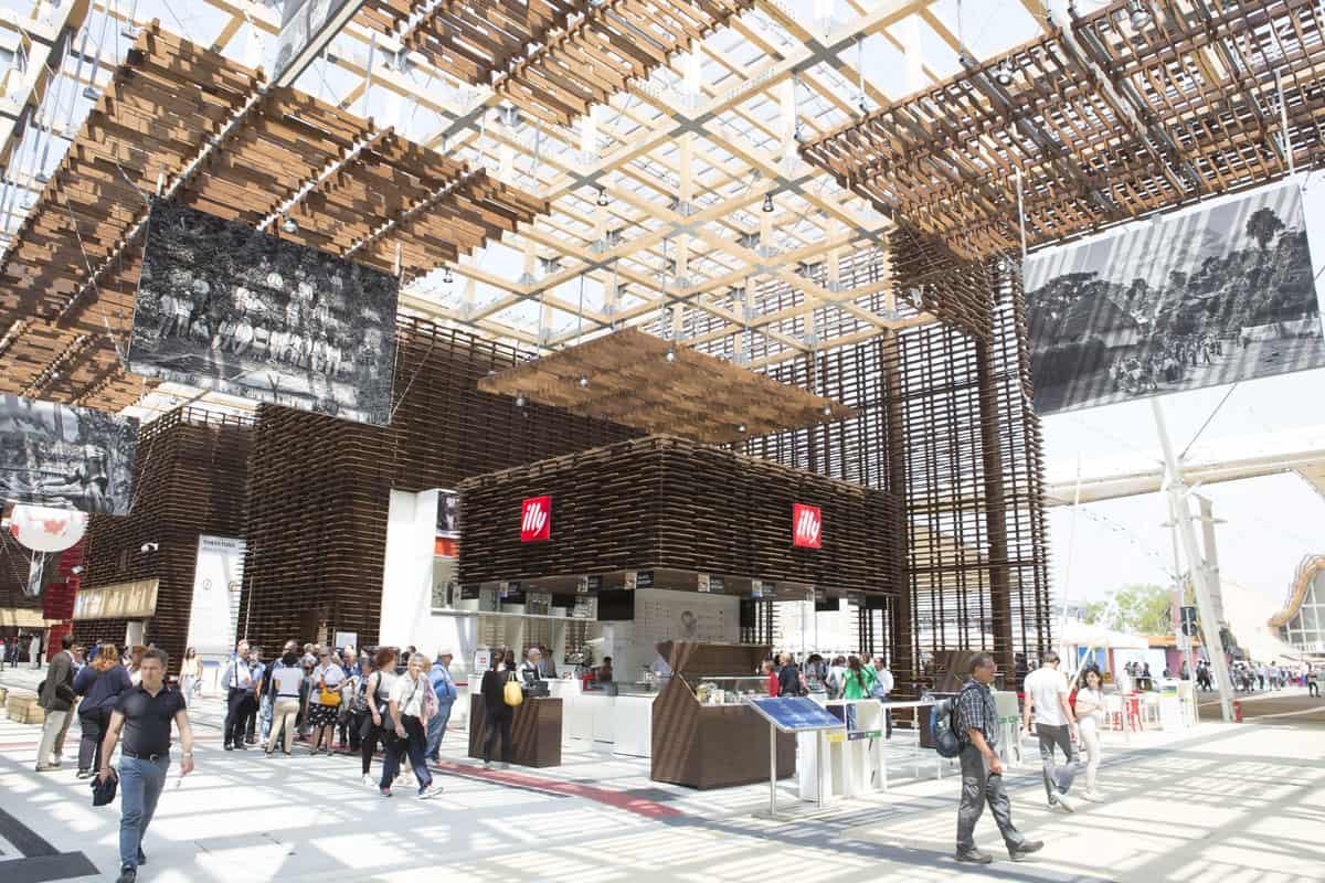 Illy Expo 2015: ol cluster del caffè a Expo coordinato da Illycaffè