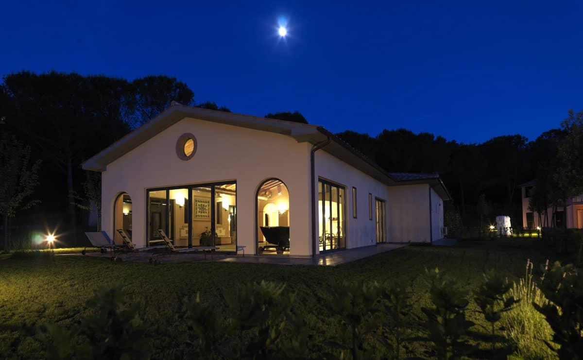 L'ingresso della Spa al Montebelli Agriturismo & Country Hotel