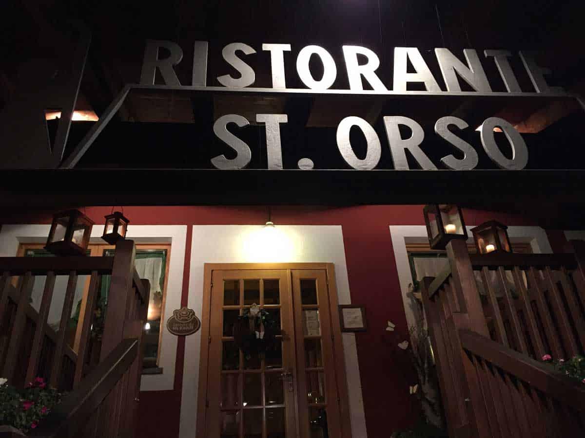 ristorante sant'orso