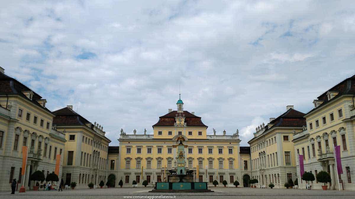 stoccarda germania residenza ludwisburg