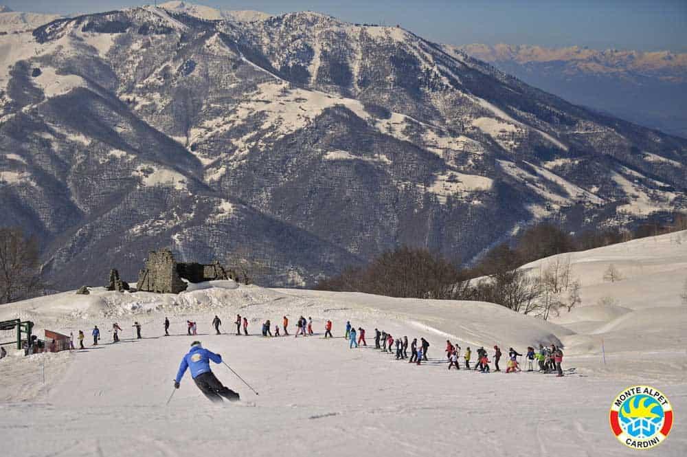 Sciare provincia Cuneo, San Giacomo Roburent