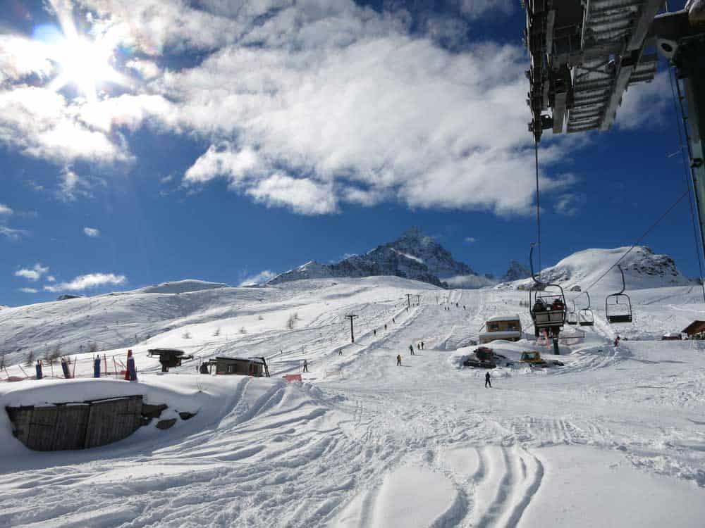 sciare provincia cuneo crissolo