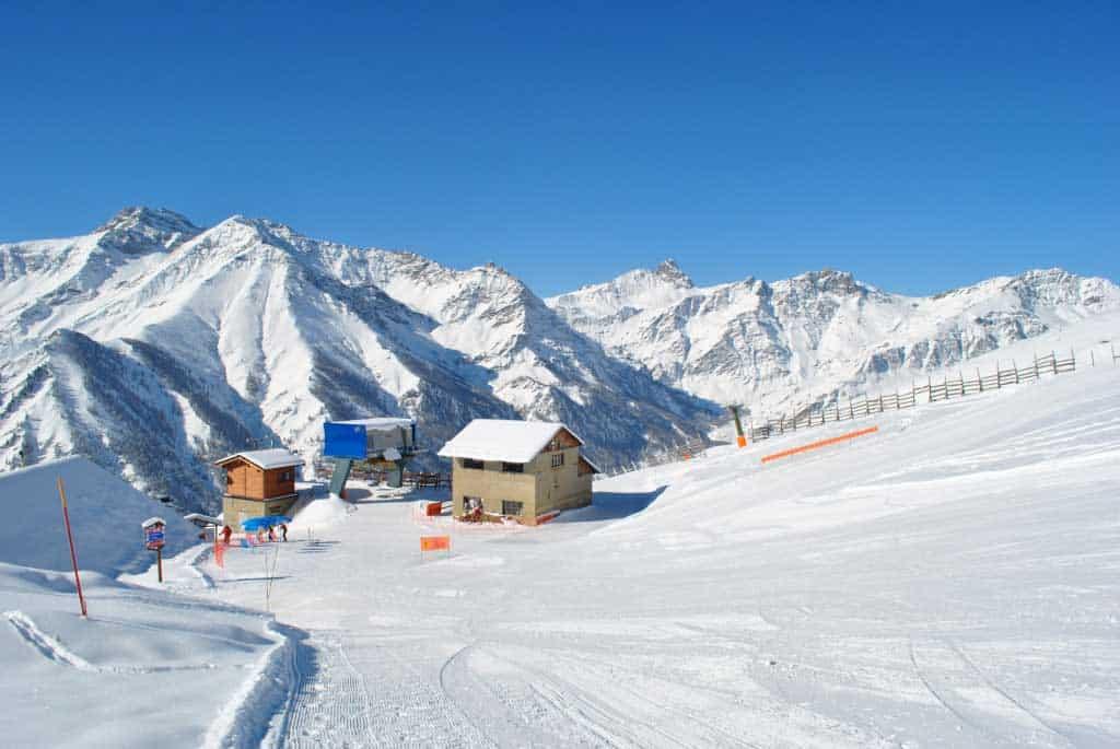 pontechianale sciare provincia cuneo