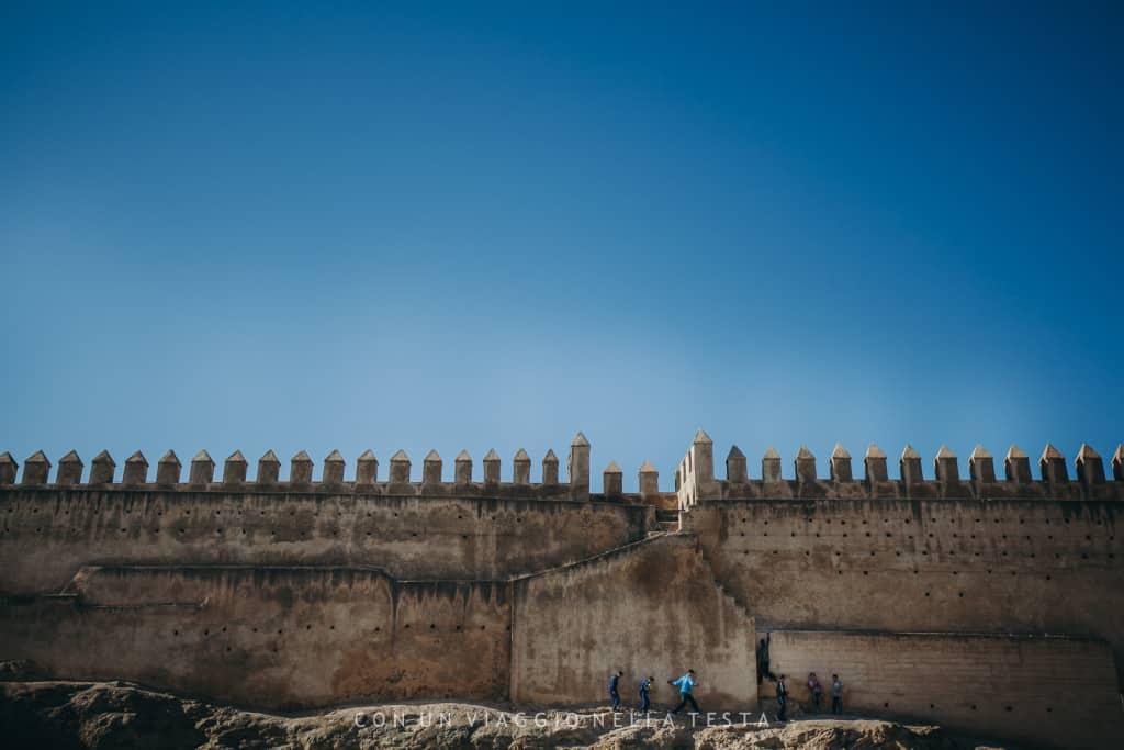 viaggio a fez marocco le mura di fez