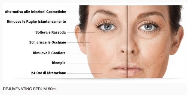crema viso antirughe gli effetti
