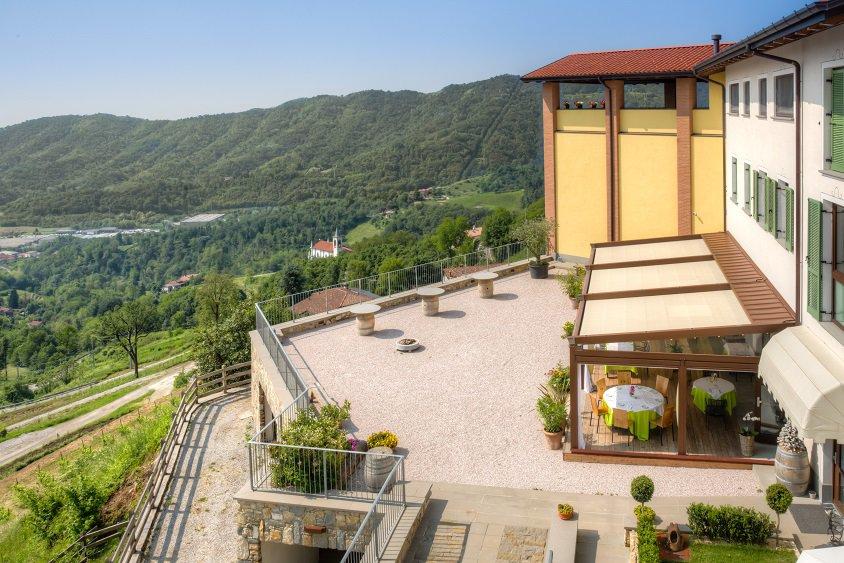 Degustazione vini agriturismo, appuntamenti ghiotti e biologici <br>(a due passi da Bergamo)