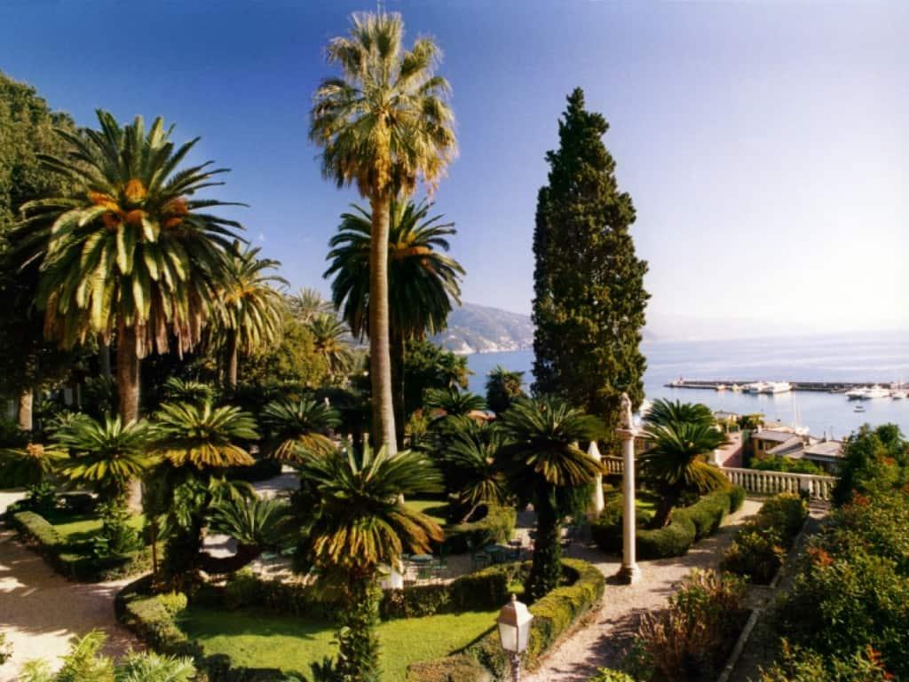 """La bella Villa Durazzo, sede di """"L'Erba Persa"""""""