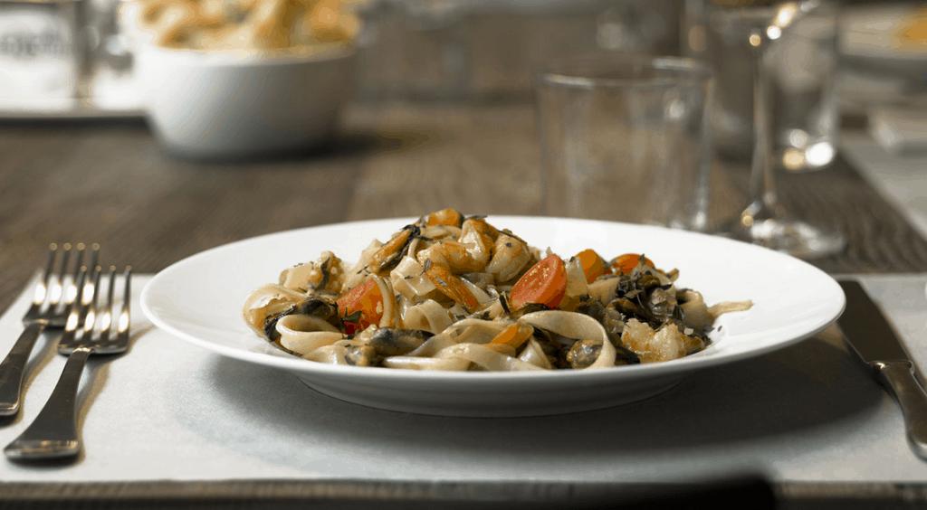 22 milano piatto di pasta