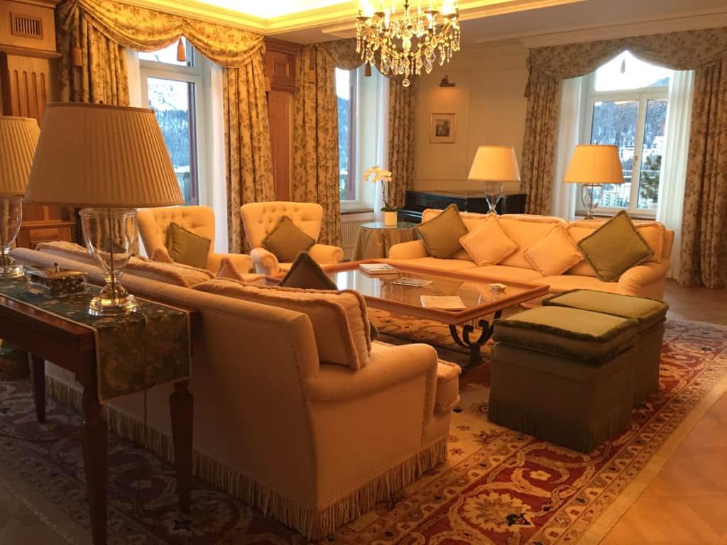 Una delle suite.