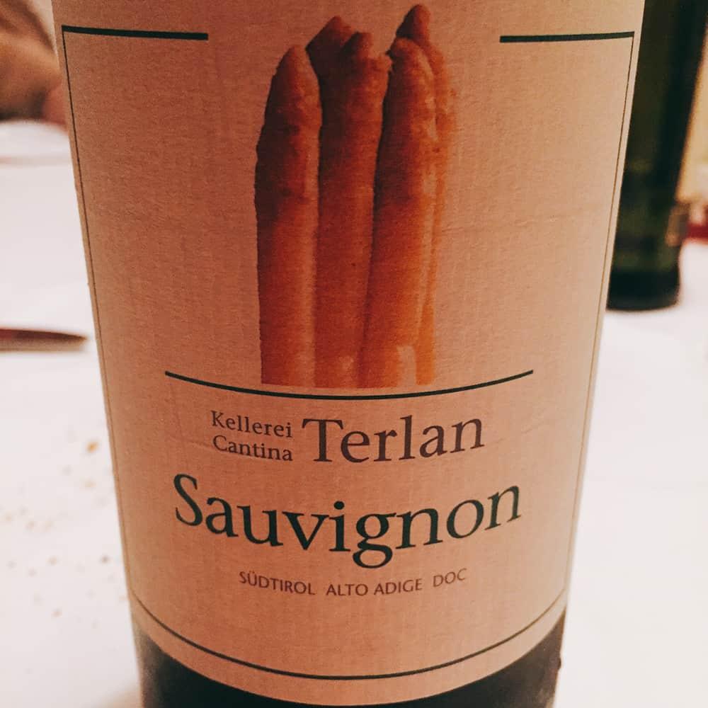 asparagi vino terlano