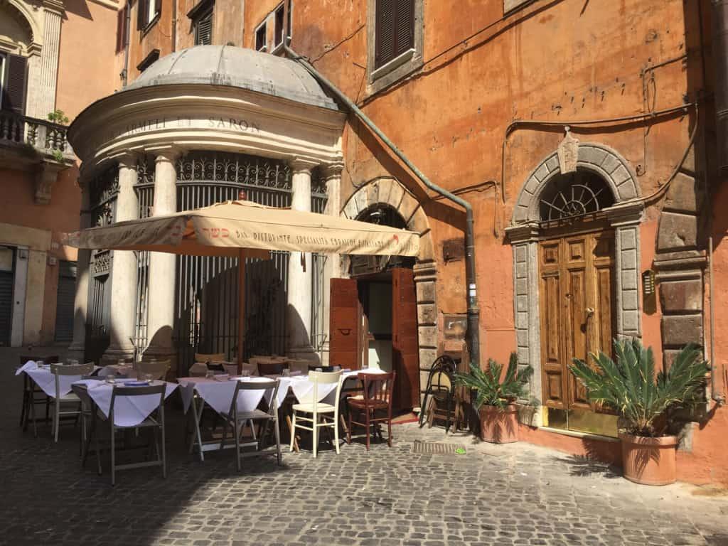 ghetto quartiere roma da vedere