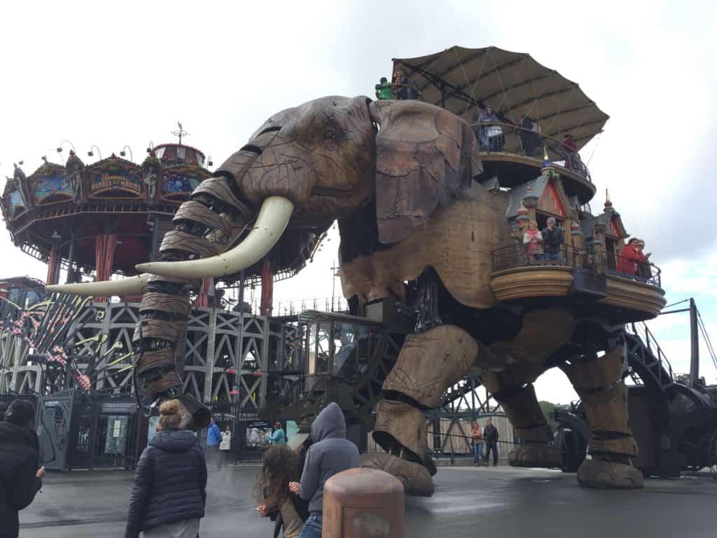vedere a nantes elefante