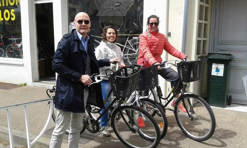 Io e i miei compagni di viaggio in bicicletta! :)